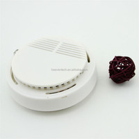 Hot Sale Stable Photoelectric Wireless Smoke Detector High Sensitive Fire Alarm Sensor Monitor for Home Security System