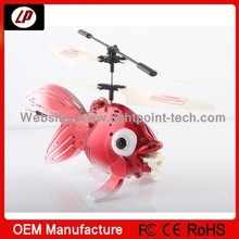 Good design commercial bubble fish remote control helicopter wholesale for kids