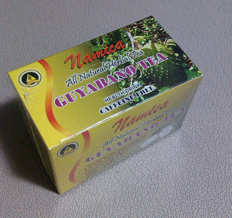 Anti Cancer Soursop Tea Guanabana Guyabano Graviola 30 Tea Bags per Box