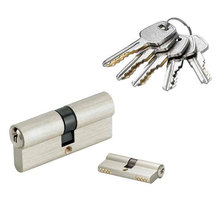Euro Profile Brass Master Key Cylinder Lock with Door Handle