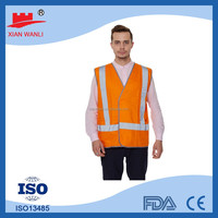 cheap wholesale fashion 100 polyester work reflecting vest