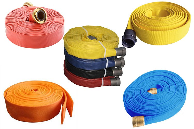 Fire hydrant used 3 inch fire hose with RUBBER lining