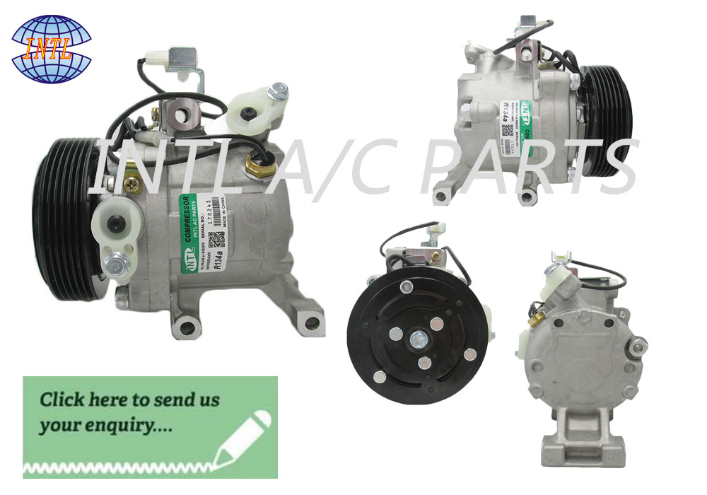 FOR Toyota Rush 06' &Daihatsu Terios 04' SV07C car air conditioner COMPRESSOR
