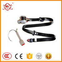 B001 Pre-Loading emergency locking super luxury ,car safety seat belt,3point automotive seat belts