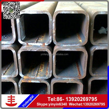Tianjin SS Group Q195/Q215 erw welded pre galvanized square structure steel pipe/tube