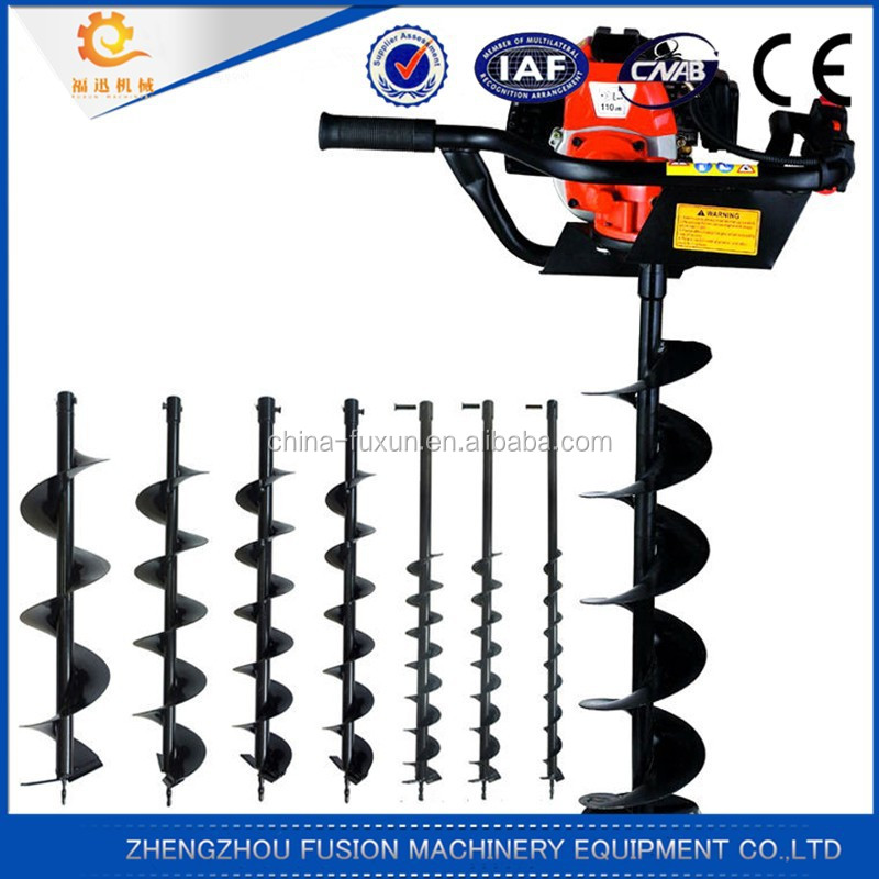 FACTORY SUPPLY hole digger machine/fence post hole digger/gas powered post hole digger