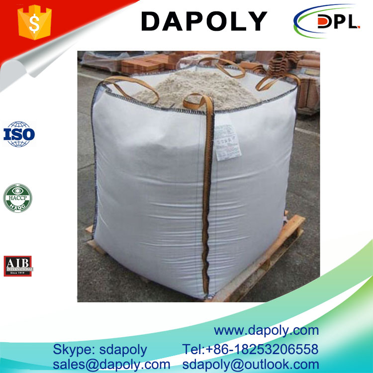 100% polypropylene PP woven jumbo bag manufacturer big bag recycling 1 ton sand bulk bag