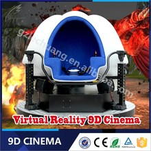 Europe Playstation Amazing video games 9dvr cinema with 3 blue egg seats