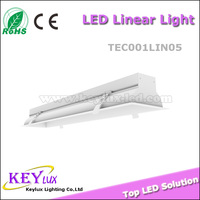 100lm/w square recessed 0.3/0.6/0.9/1.2/1.5m led drop ceiling panel light for commercial lighting