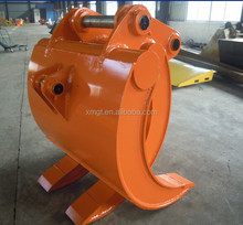 Excavator Hydraulic Attachment and mechanical grab