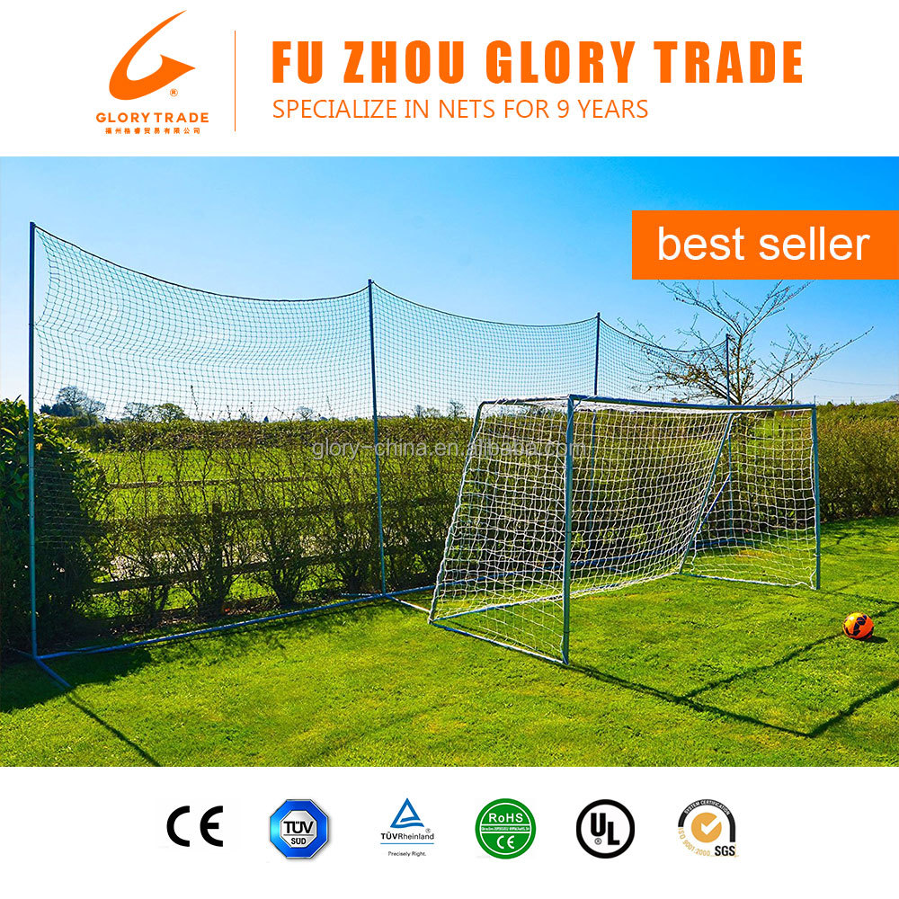 High Quality Portable Soccer Nets Sports Training Football Goal