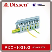 PVC Plastic Pipe Slotted Wiring Duct For Wire And Cable