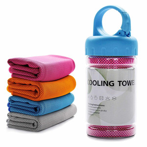 Guangzhou Reactive Printed Cold Feeling Gym Sports Instant Stay Cooling Cold Towel