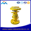 2016 Best selling product Coupling Equal Casting brass stainless steel compensator