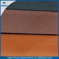 China manufacturers for automotive synthetic leather can do waterproof pu faux leather fabric