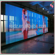 elegant sense of perspective led mesh screen wall/window covering