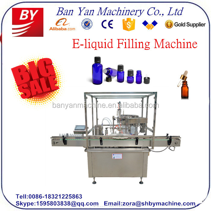 Automatic e-liquid filling machine ,robot hand style e liquid ,eye drop bottle filling machine ,CE Certificate,/0086-18321225863