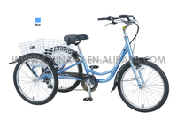 GW 7015E 36V electric cargo tricycle for adult shopping