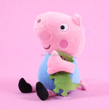Wholesale 4 dolls family red peppa cute pig gifts