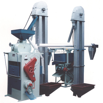 Automatic 2 ton per hour rice mill plant / high output rice milling machine