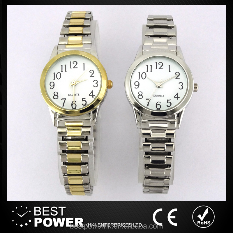 Fancy expansion strap women quartz watches for sale