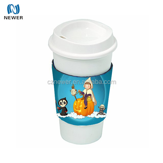 OEM high quality thermal neoprene party popular drink sleeve holder