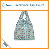Easy foldable shopping bag nylon shopping bag reusable shopping bag