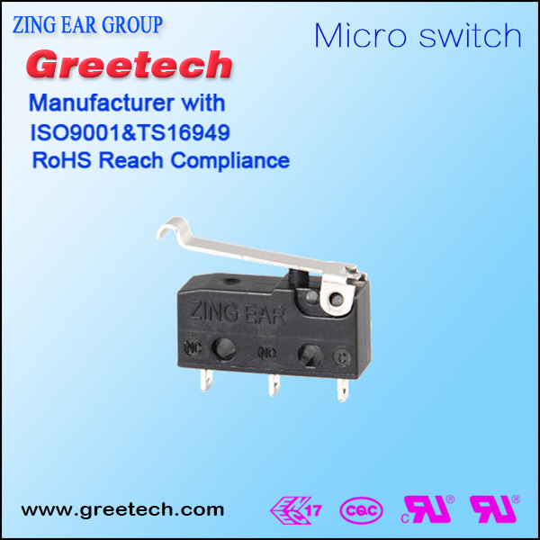 12v dc timer switch, zing ear micro switch china supplier