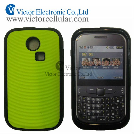 New Mobile phone TPU case for Samsung Chat 335, S3350