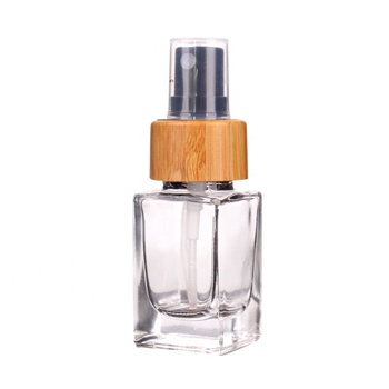20ml wholesale empty high quality glass bottle for perfume with pump sprayer