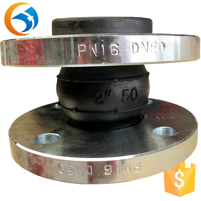 Repurchase discunt PN10 flange rubber expansion joints concrete for thermal pipes