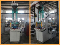 Desktop vertical injection molding machine