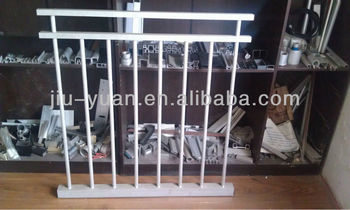 welding aluminum railings