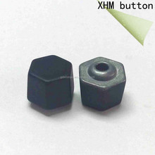 2015 high quality metal polygon rivets for clothing