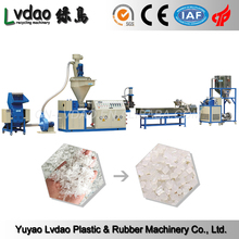China product pe/pp films/bags recycling/washing machine