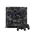 Best quality for PS4 sticker New York letters + 2 controller skin