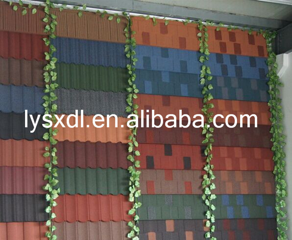 Stone Coated Metal Roofing Tiles, Natural Black slate Roofing tiles (With CE), synthetic roofing tile asphalt shingles