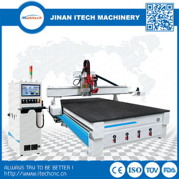 China 2030 cnc router automatic wood cutting machine with auto tool changer