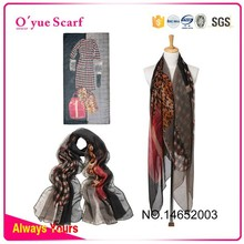 New Style Fashion Silk Feeling Modern Scarf Shawl