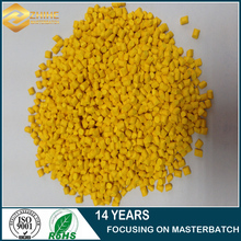 Yellow Masterbatch With Abs/pp/pe Pellets Plastic Masterbatch\color Concentrates From Masterbatch Manufacturer With Low Price