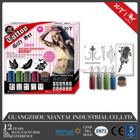 King Horse glitter tattoo/glitter tattoo ink/glitter tattoo stencil Gift Set