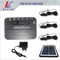 2016 emergency solar home lighting system with mobile charging