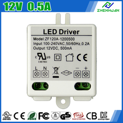 2 Years Warranty White moso led driver 12V 500mA