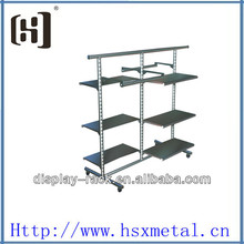 Moving shirt large clothes rack HSX-2072