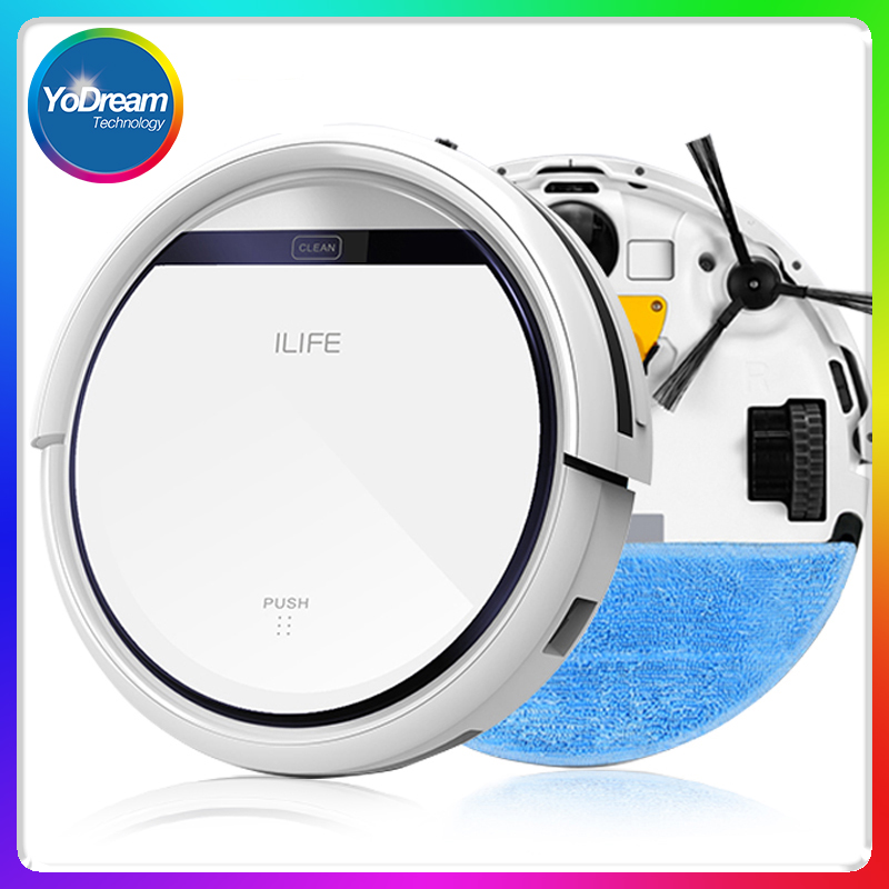 ILIFE V3S & V5 CHUWI Wet Robot Vacuum Cleaner for Home Wet Dry Clean Water Tank Double Filter Self Charger Vacuum Cleaner Robot