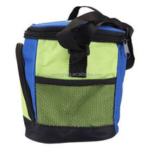 cooler bag/ solar powered bottle cooler bag/ foldable cooler