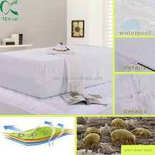 Waterproof Zippered Anti Allergy Mattress protector Cover Bed bug proof