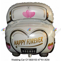 2015 hot sale wedding stage decoration balloon wholesale wedding car foil balloons