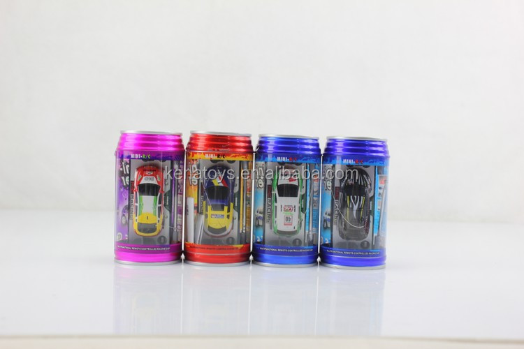 Good sale 1:63 Scale Cute 4 Styles 8 Colors Coke Can Mini RC Car