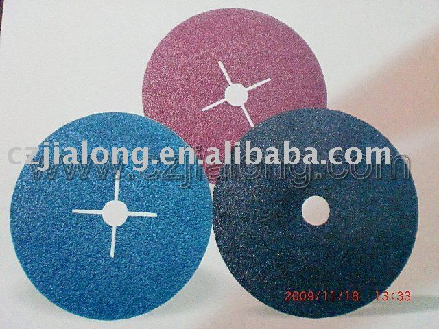 Fibre Disc / Abrasive/Sanding Disc with hole